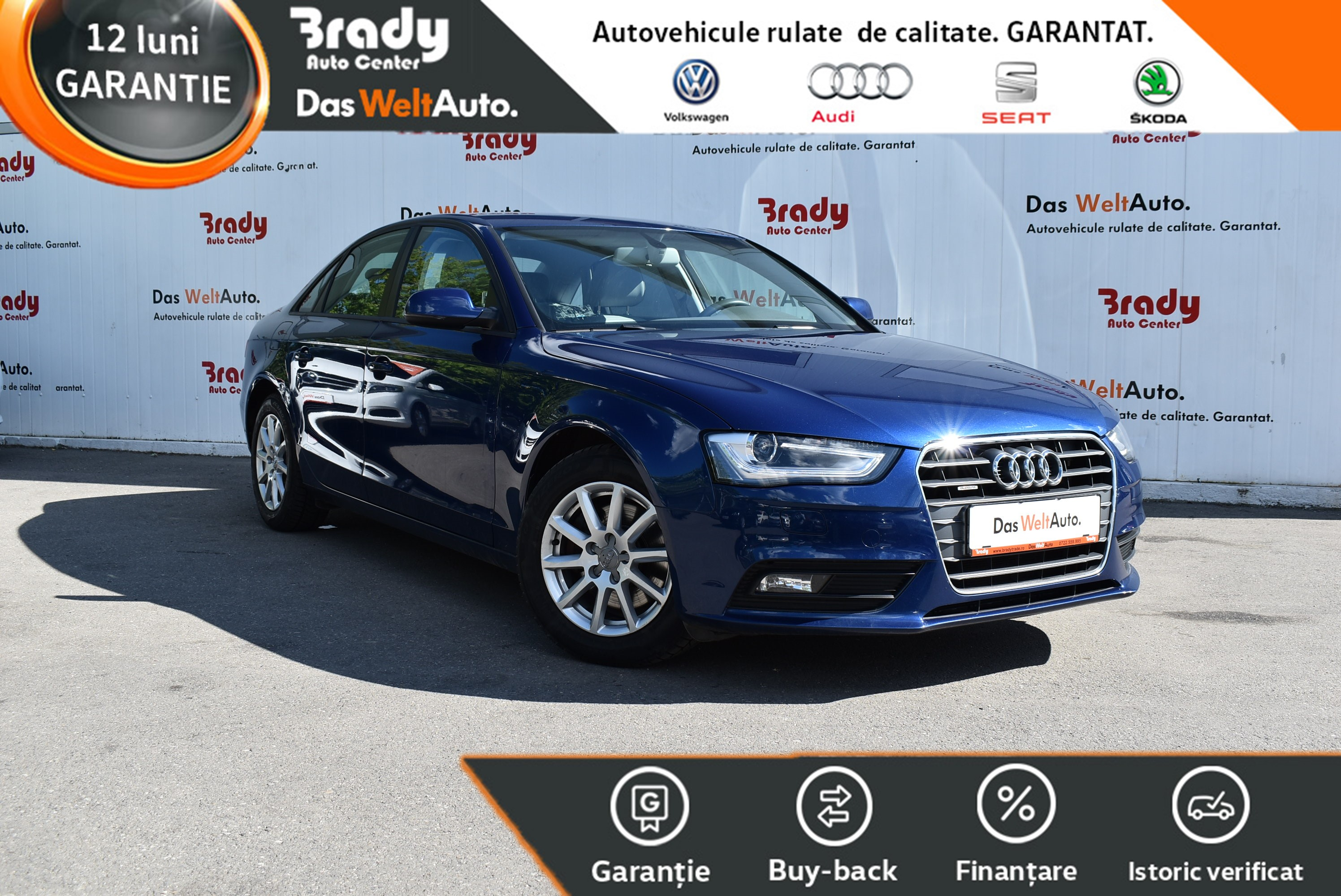Audi A4 4X4 2.0 TDI/150CP