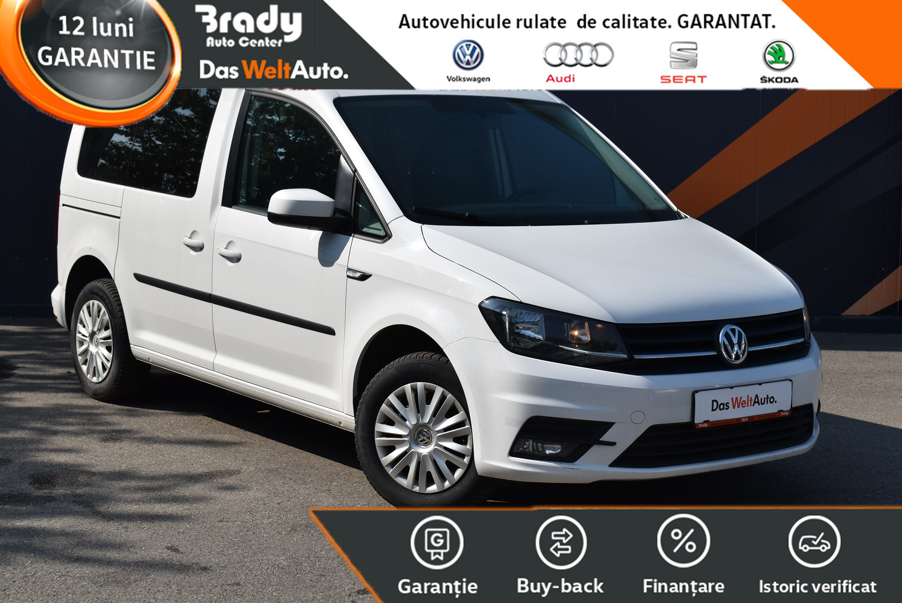 VW Caddy 2.0 TDI /102 CP