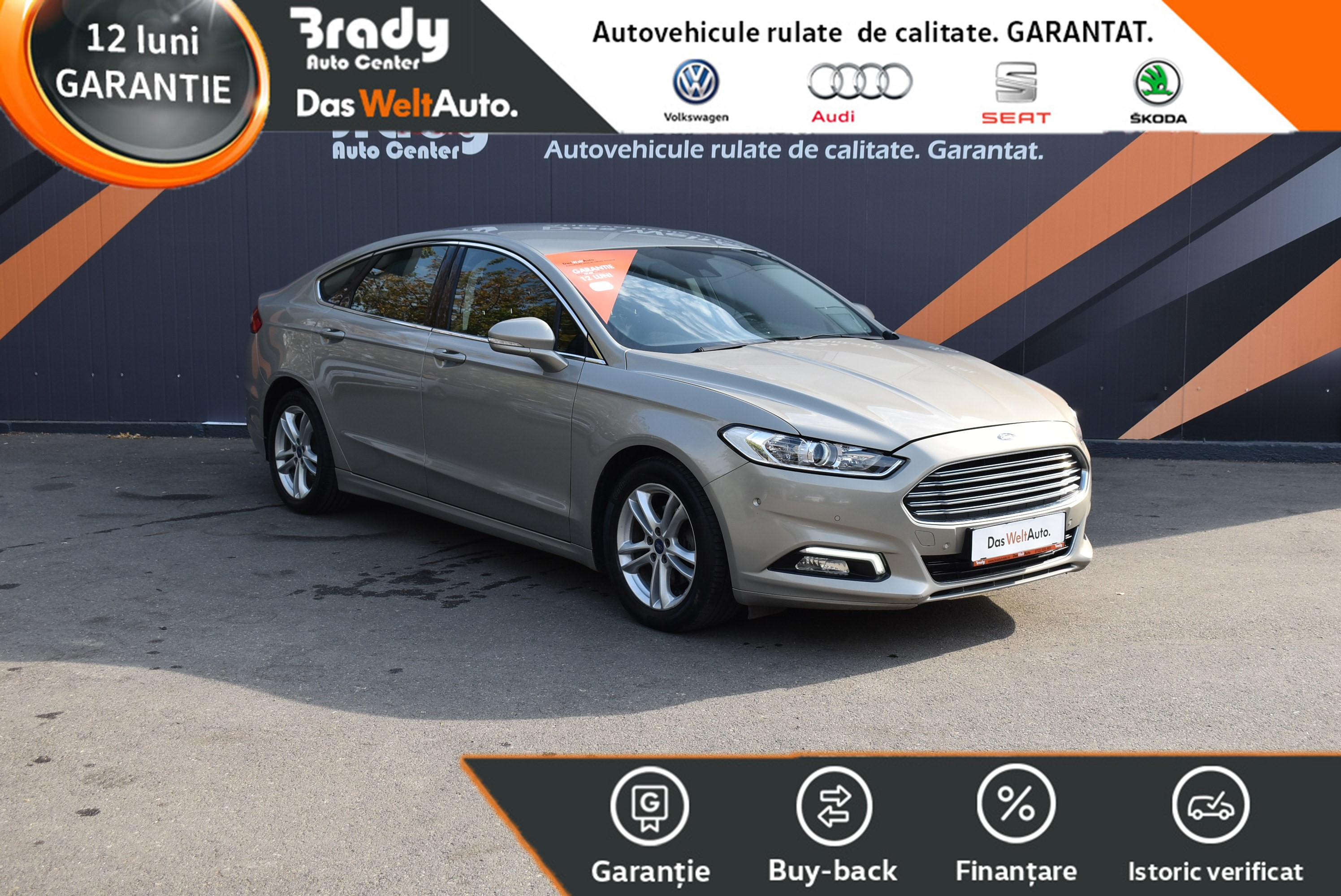 Ford Mondeo 2.0 TDCI / 180 CP automat