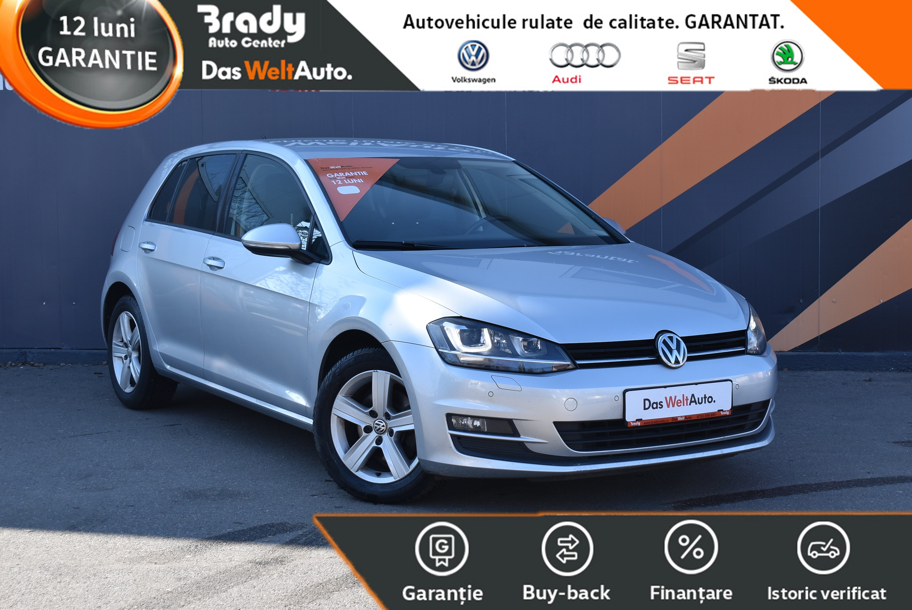 VW Golf 7 2.0 TDI / 150 CP