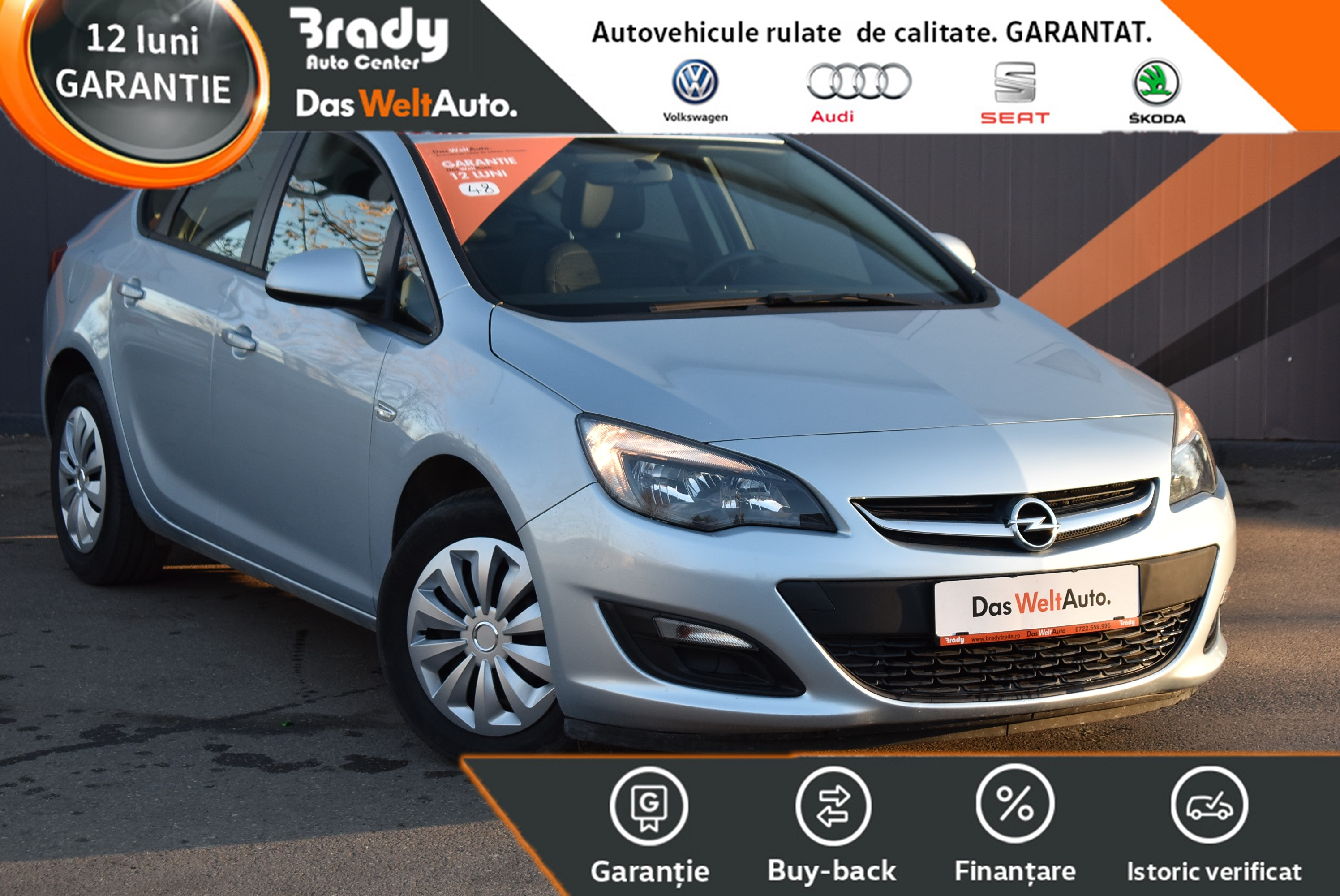 Opel Astra 1.6 / 116 CP