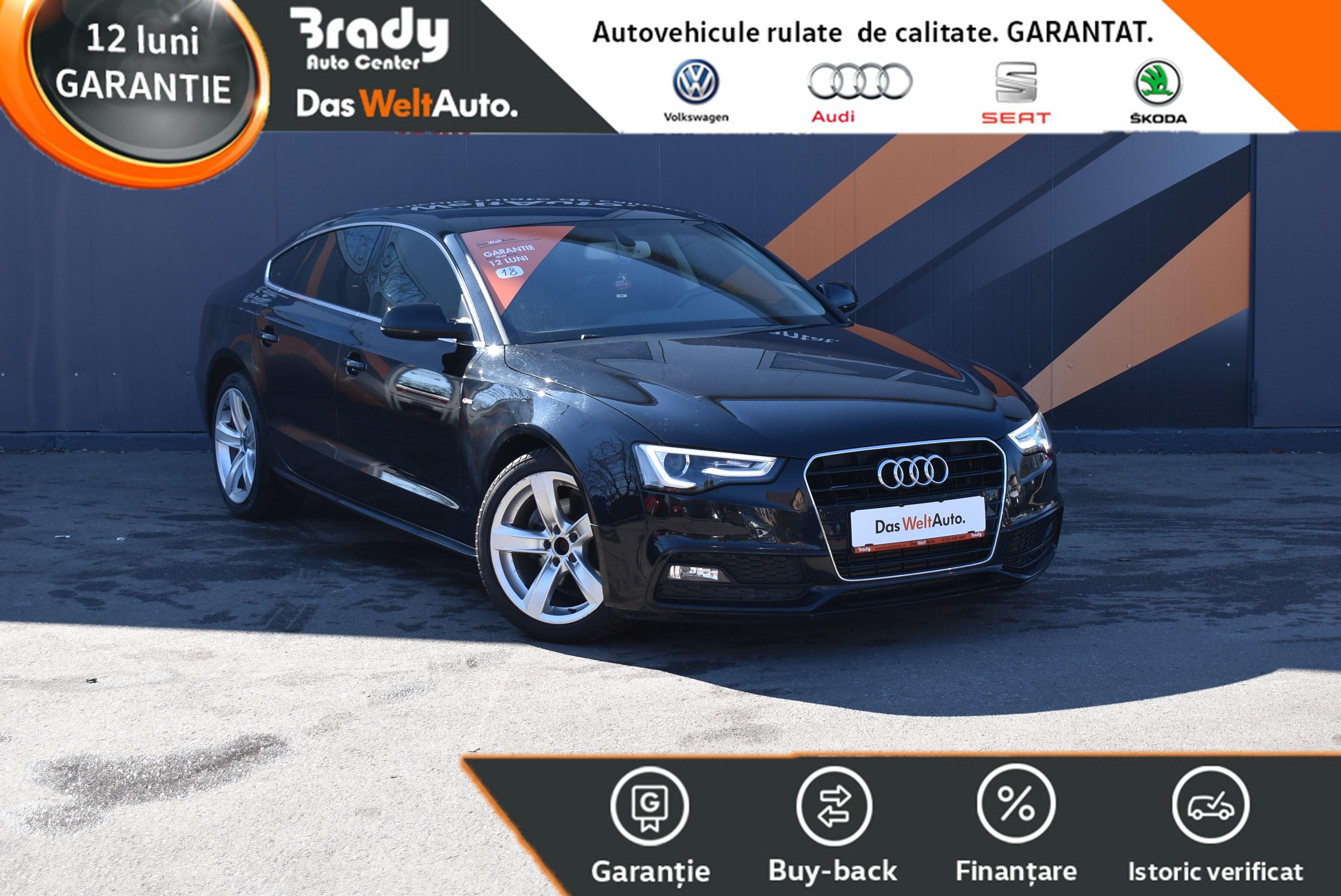 Audi A5 Sportback 2.0TDI/150CP