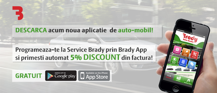 Aplicatia de mobile Brady